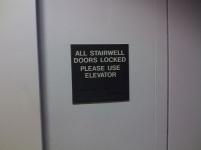 stairwell lock