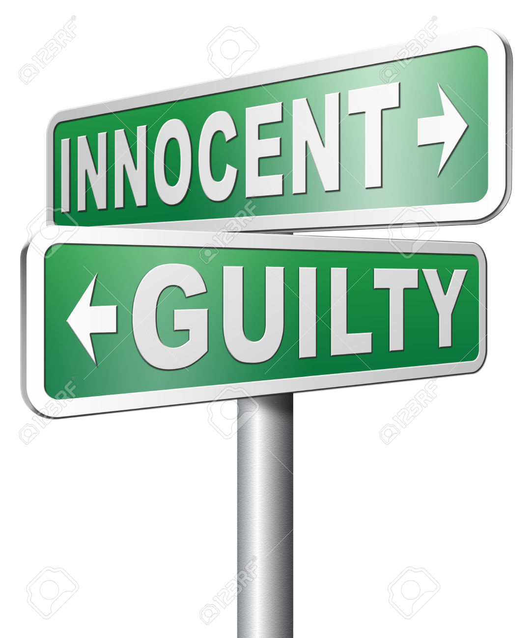 """we are innocent until proven guilty We are assured that if we are charged with a crime in the """"land of the free,"""" we  are  """"innocent until proven guilty"""" we are handcuffed and shackled in front of."""